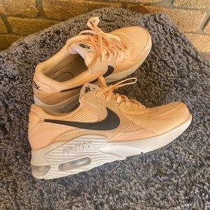 COPY - Nike AirMax apricot-pink colour size 9 Au